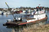 实用程序艘旧船、 波特兰或. — 图库照片