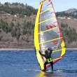 Royalty-Free Stock Photo: Wind surfing in Hood River Oregon.