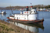 Old utility ship, Portland OR. — Stock Photo