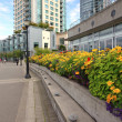 Stock Photo: Decorated promenade in Vancouver BC Canada.