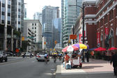 Downtown Vancouver BC. — Stock Photo
