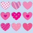 hearts — Stock Vector #8068144