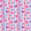 Stock Vector: Valentine pattern 1