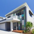 Modern house front — Stock Photo #9530928