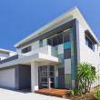 Stock Photo: Modern house front