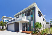 Modern house front — Stock Photo