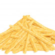 Stock Photo: Heap of french fries, front view
