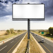 Billboard with Stormy Sky on americtoll way — Stock Photo #10066763