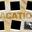 Stock Photo: Vacation Background