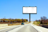 Road Billboard — Stock Photo