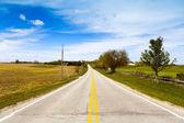сельской местности дорога — Стоковое фото