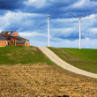 Storm is coming on Wind Farm — Stock Photo #10346884