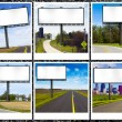 Stock Photo: Billboards