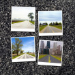 Asphalt Road Background or Texture — Stock Photo