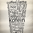 Coffe Poster — Stock Photo #8495293