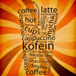 Foto Stock: Coffe Menu