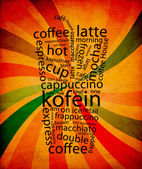 Coffe Menu — Stockfoto