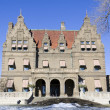 MILWAUKEE, WISCONSIN - DECEMBER 29: Views of The Pabst Mansion Museum, building designed by architect George Bowman Ferry on December 29, 2011 in Milwaukee, Wisconsin, USA. — Stock Photo