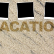 Vacation Background — Stock Photo