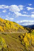 Sonbahar manzarası, colorado, abd — Stok fotoğraf