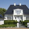 Luxury villa Denmark - Stock Photo