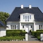 Luxury villa Denmark — Stock Photo