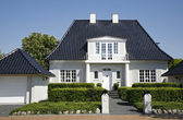 Luxury villa Denmark — Stock Photo