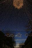 Illuminated street — Stock Photo