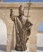 ベネディクト 16 世の像 — ストック写真