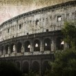 Colosseum - Rome, Italy - Stock Photo