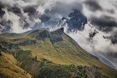Storm in the mountains — Stock Photo