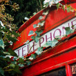 London red phone booth — 图库照片