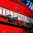 Stockfoto: London red phone booth