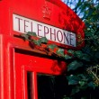 London red phone booth — Stok Fotoğraf #10016073
