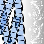 Film strip vector template — Stock Vector