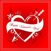 Valentinstag vektor hintergrund — Stockvektor