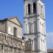 Bell Tower of the Cathedral of Ferrara — Stock Photo