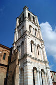Bell Tower of the Cathedral of Ferrara City - Italy — Stock Photo