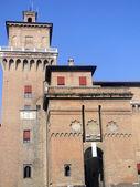 The historic castle of the Este family in Ferrara - Italy — Stock Photo