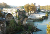 City of Rome - Tiber Island - Italy 016 — Stock Photo