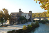 City of Rome - Tiber Island - Italy 006 — Stock Photo