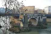 City of Rome - Tiber Island - Italy 048 — Stock Photo