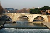 City of Rome - Tiber Island - Italy 031 — Stock Photo