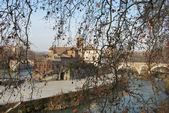City of Rome - Tiber Island - Italy 058 — Stock Photo