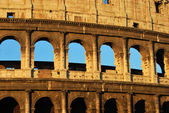 Postcards of Rome - Colosseum - Italy 012 — Stock Photo