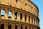 Postcards of Rome - Colosseum - Italy 013 — Stock Photo