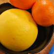 Stock Photo: Grapefruit and clementine 004