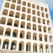 Rome EUR (Palace of Civilization 089) - Rome - Italy — Stock Photo #9587916
