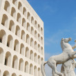 Stock Photo: Rome EUR (Palace of Civilization 062) - Rome - Italy