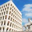 Stock Photo: Rome EUR (Palace of Civilization 024) -Rome - Italy